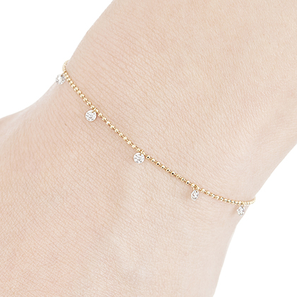 AbHeri / Diamond Station Bracelet ¥114,000